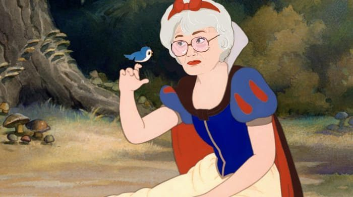 sophia snow white disney princess golden girls