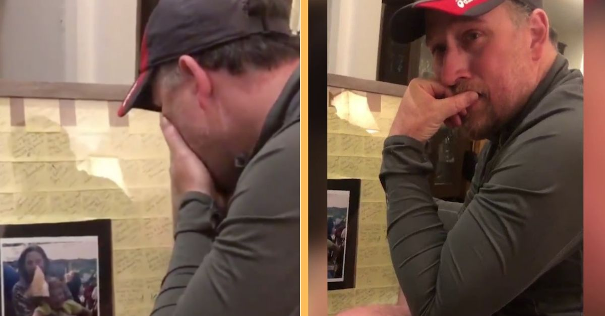 Watch Stepdad Receive A Special Father's Day Gift — His Reaction Has Us In Tears
