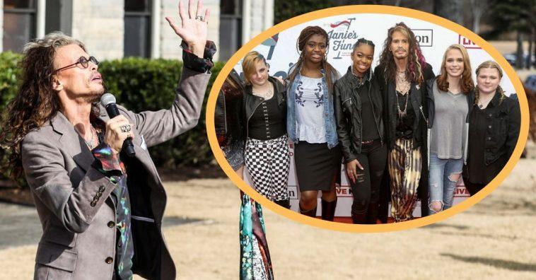 steven tyler opens care home for abused girls
