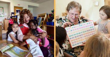 volunteer grandparents beneficial in preschools