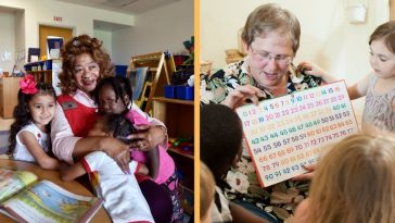 volunteer grandparents beneficial in preschools