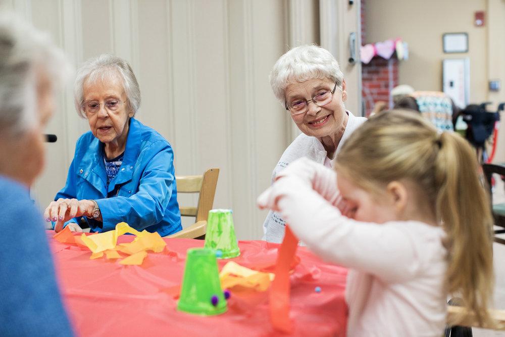 Volunteer grandparents