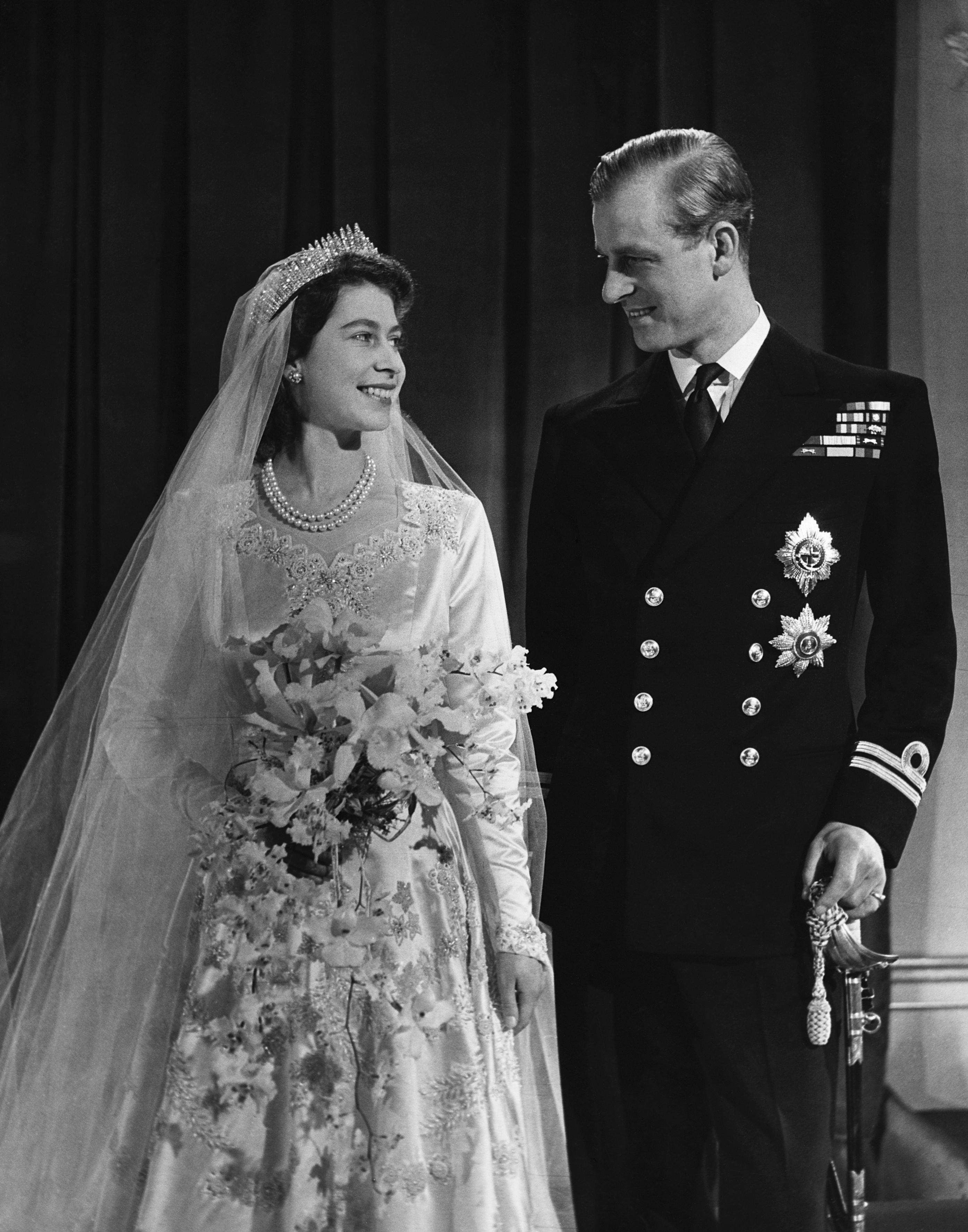 queen elizabeth prince philip wedding