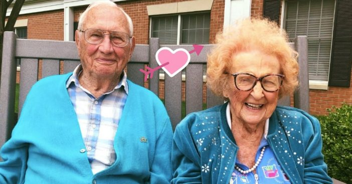 100 year old and 103 year old just got married