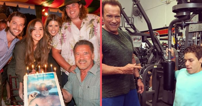 Arnold Schwarzenegger Turns 72 And Celebrates With Kids