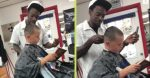 Barber Pays Kids To Read A Book Out Loud During Their Haircuts