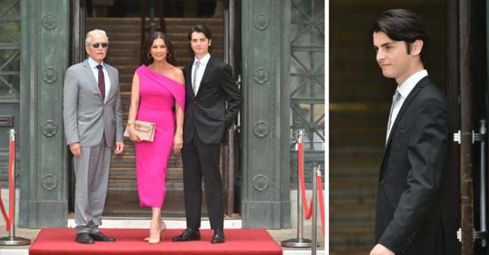 Catherine Zeta Jones and Michael Douglas son Dylan is all grown up