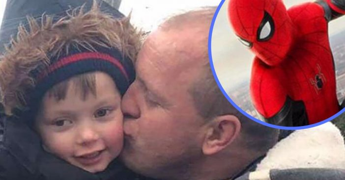 Disney denies a request to put Spiderman on a young boys gravestone