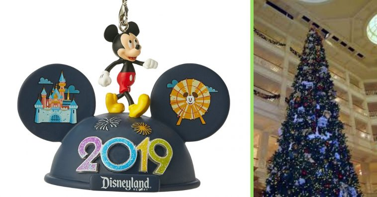 Disney released their new Christmas ornament collection