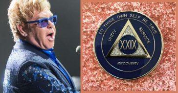 Elton John Celebrates 29 Years Of Sobriety With Heartfelt Post