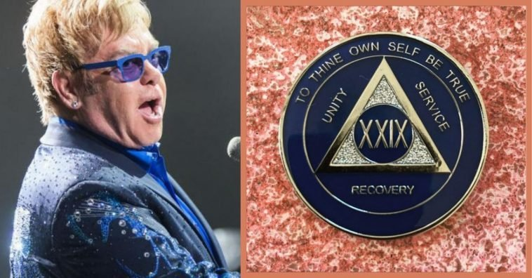Elton John Celebrates 29 Years Of Sobriety With Heartfelt Post