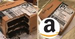 Husband Surprises Wife Her Favorite Thing For Her Birthday; An Amazon Box Birthday Cake