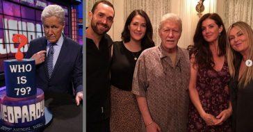 'Jeopardy!'s Alex Trebek Celebrates 79th Birthday Amid Cancer Battle