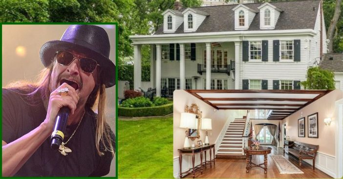 Kid Rock's Beautiful Detroit Home Is On The Market For $2.2M