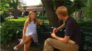kira conrad during interview