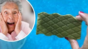 Learn Grandmas hack for a clean pool with a magic eraser