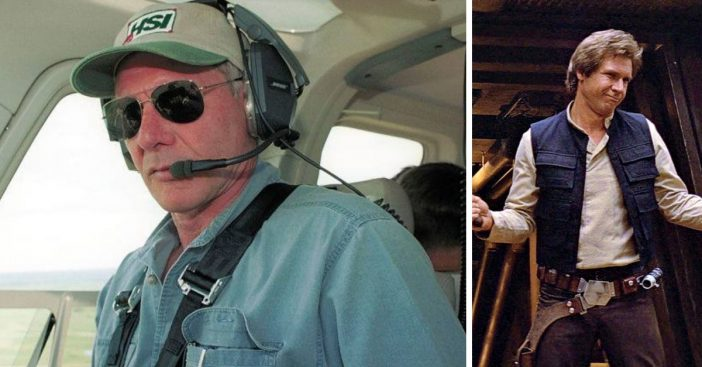 Learn more about Harrison Fords dangerous but heroic hobby