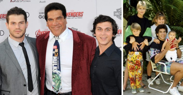 Lou Ferrigno Jr talks about growing up with his father as the Incredible Hulk