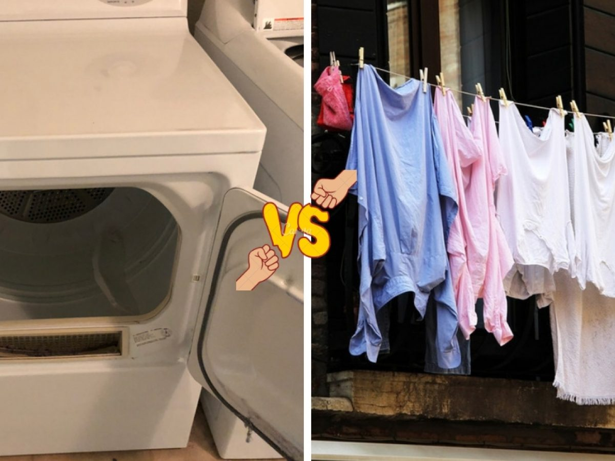 Should You Air Dry Or Machine Dry Your Clothing