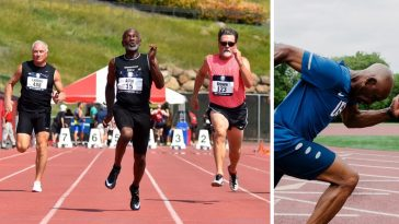 Meet the 71 year old runner who is breaking world records named Charles Allie