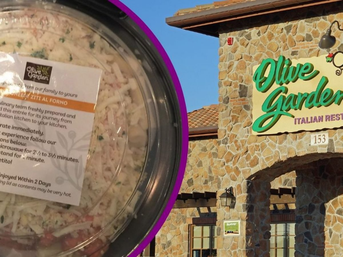 Olive Garden Is Offering 5 Take Home Entrees All Year