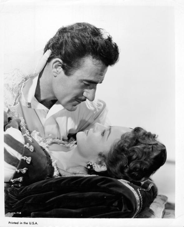 Olivia de Havilland in 1955 for 'That Lady'