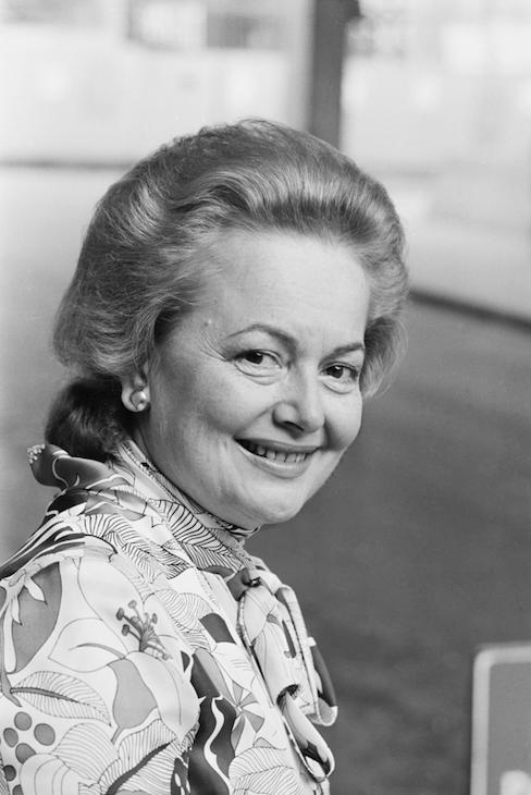 Olivia de Havilland in 1971