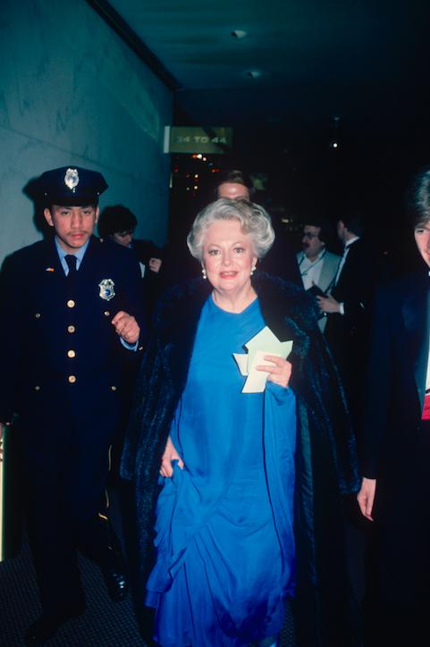 Olivia de Havilland in 1990