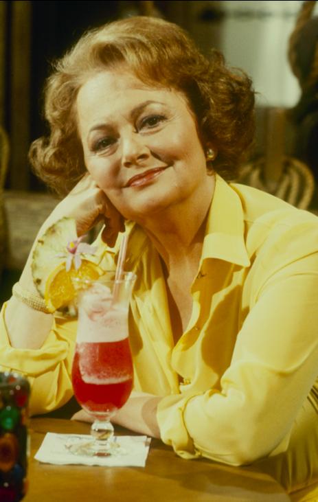 Olivia de Havilland in 1981 for 'The Love Boat'
