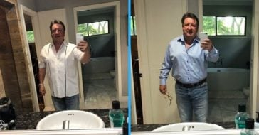 Single dad asks daughter for fashion advice and ends up going viral