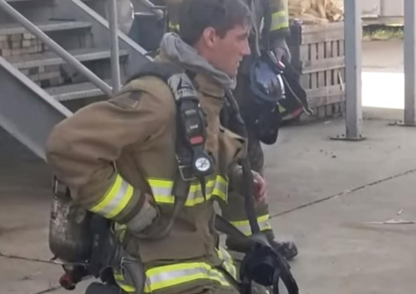 spencer firefighter