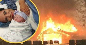 The story of a woman giving birth during the Camp Fire will become a movie