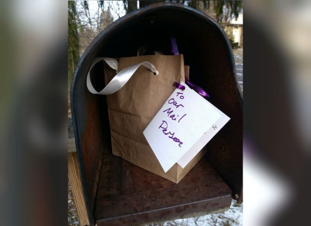 a present for the mailman