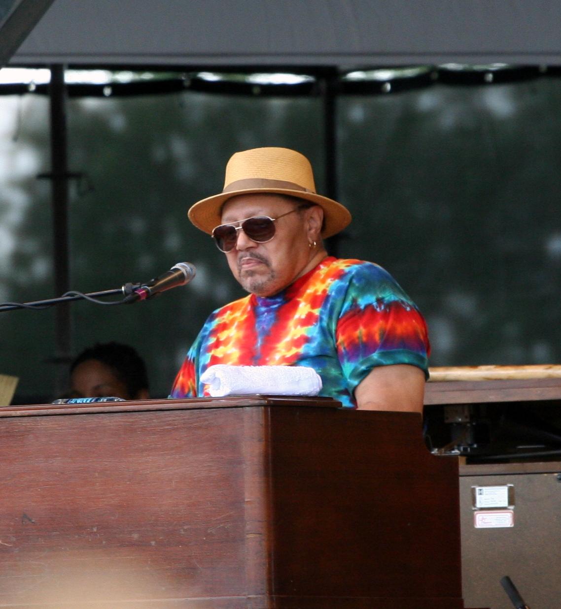 art neville playing piano