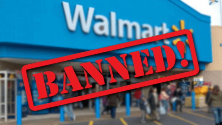 banned from Walmart image