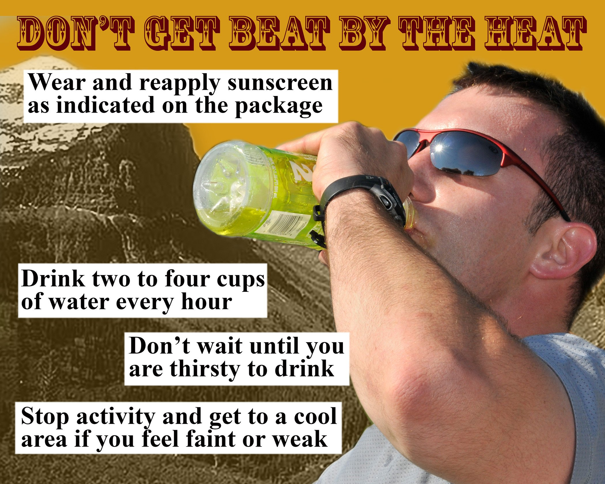 beat the heat rules