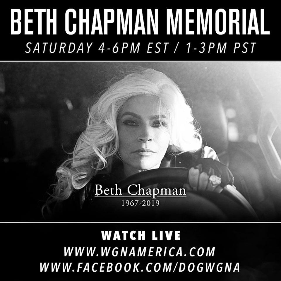beth chapman memorial