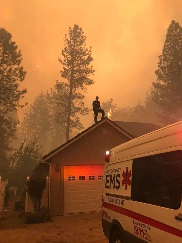 camp fire ems