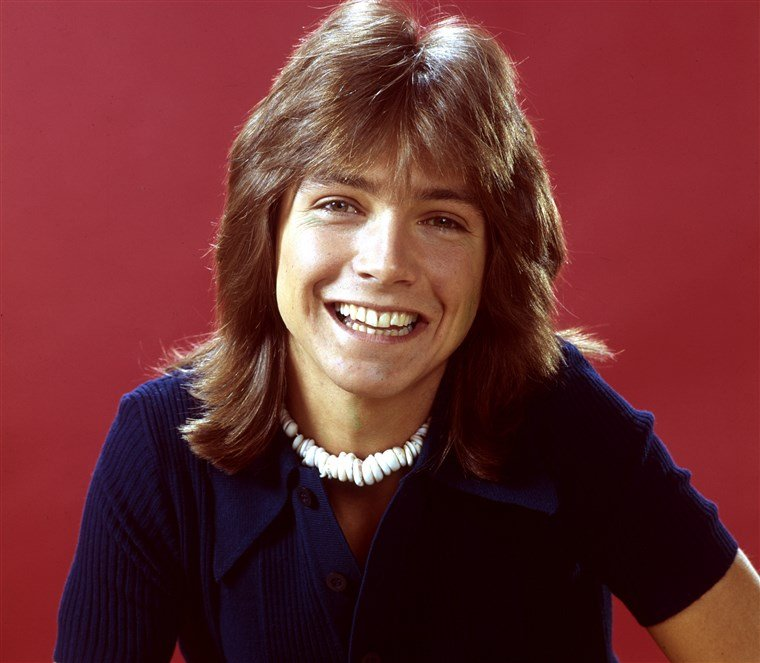 david cassidy in the 1970s