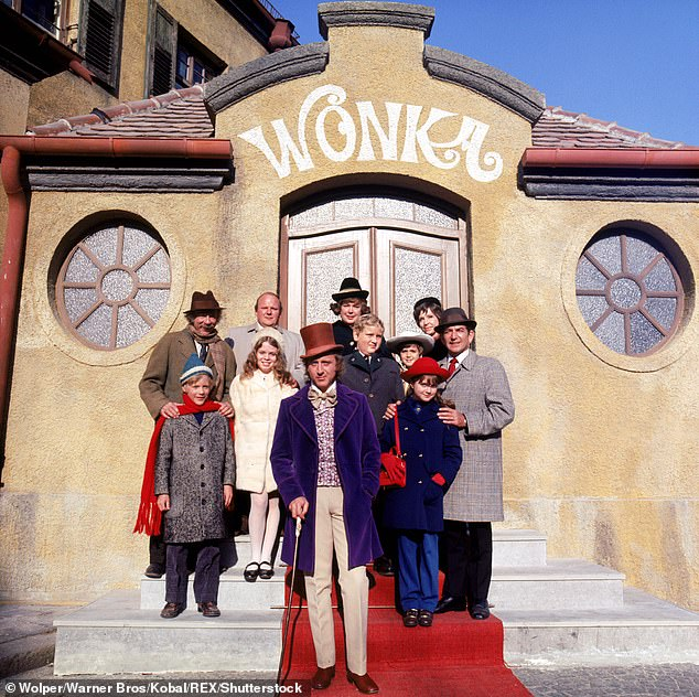 Denise Nickerson in Willy Wonka