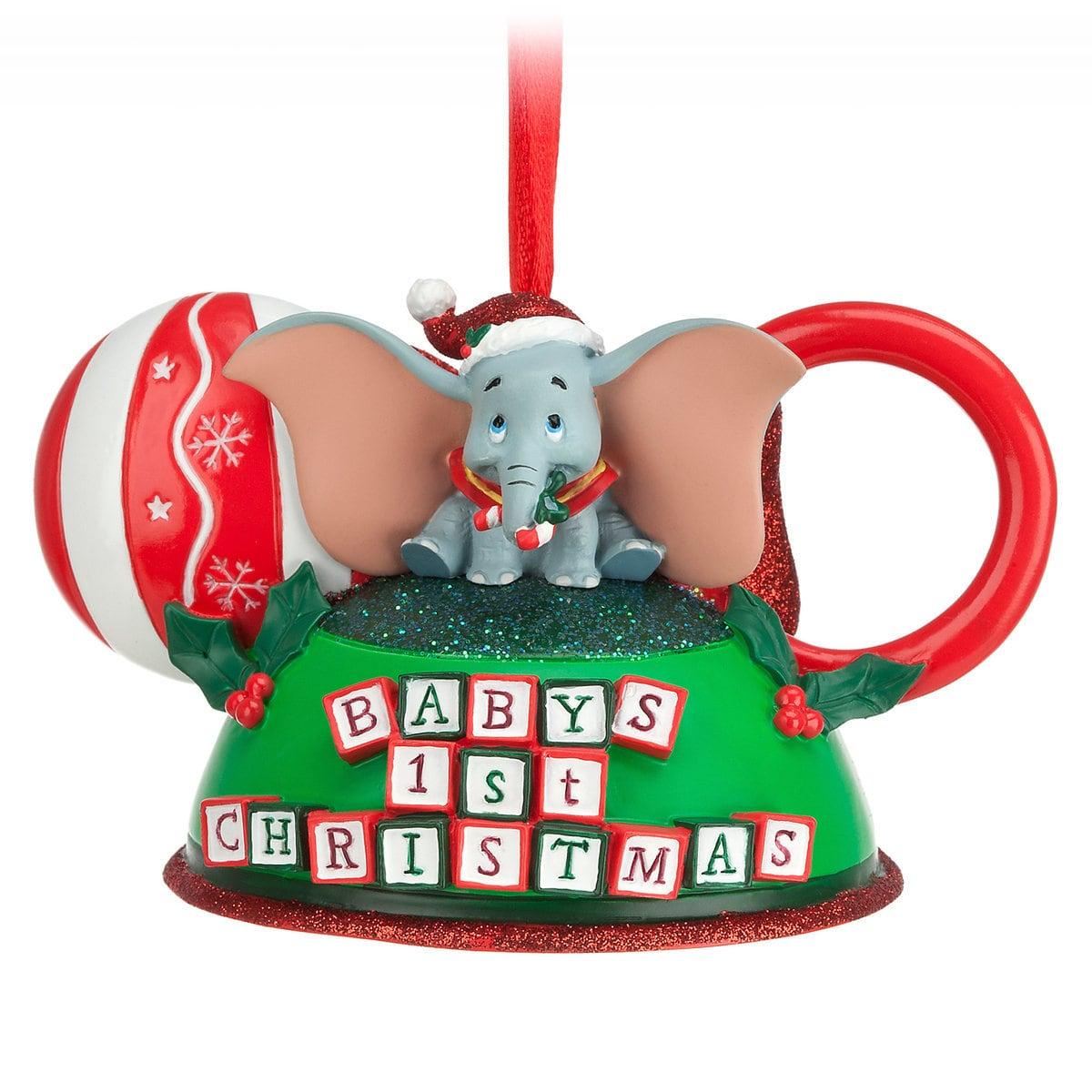 dumbo babys first christmas ornament disney