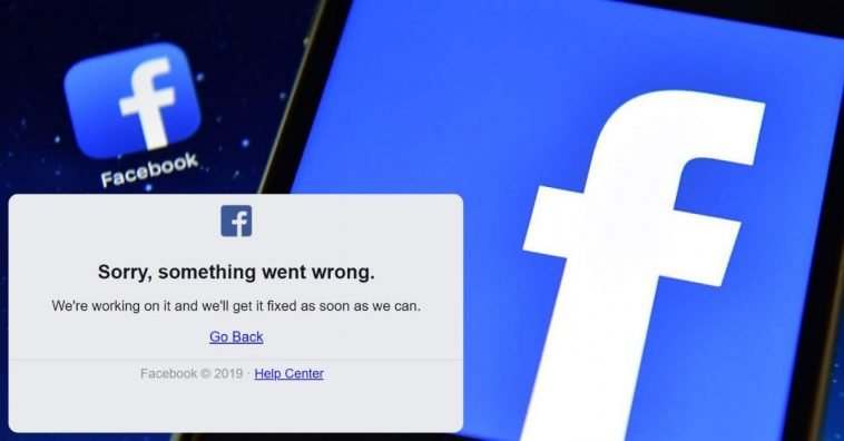 facebook outage status update here