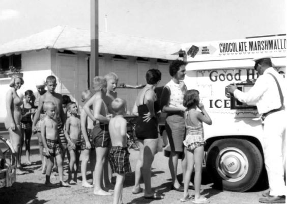 Good Humor Ice Cream Truck