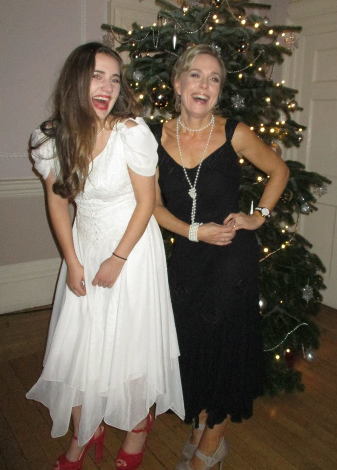 grace wore her mothers wedding dress to prom