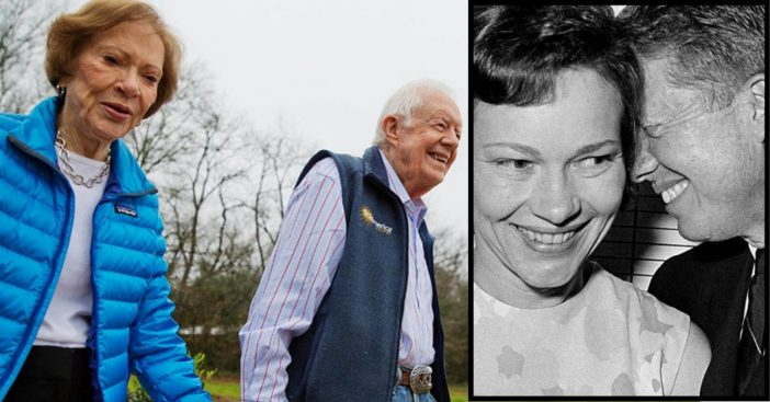 jimmy and rosalynn carter celebrate 73rd wedding anniversary