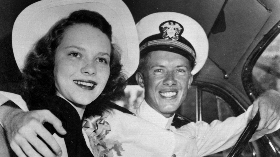 Young Jimmy and Rosalynn Carter