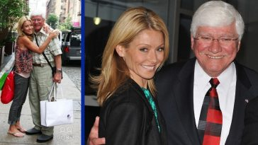 kelly ripa posts loving message for father's 80th birthday