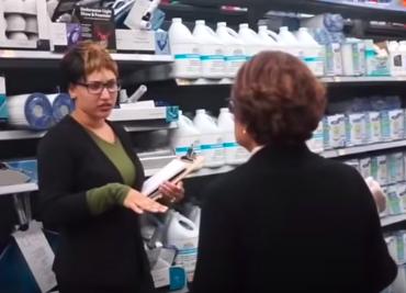 Lauren Love pranks Walmart employees