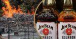 massive fire destroys jim beam warehouse