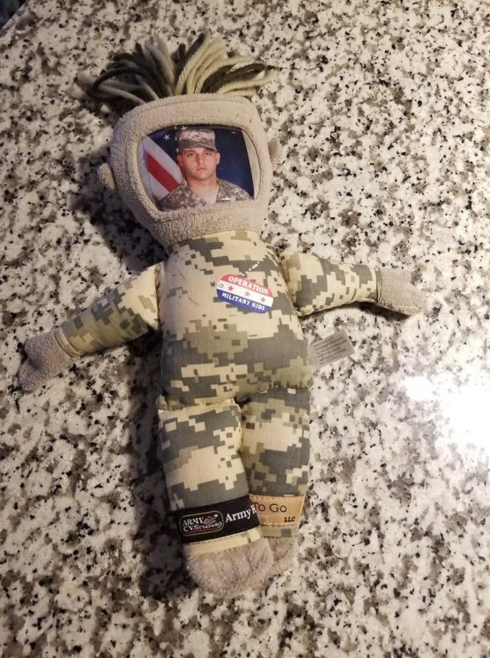 military daddy doll